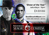 Miami Beach Show Kevin Caruso Magic Comedy