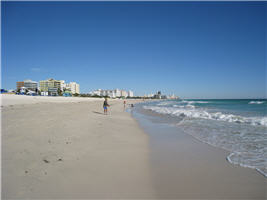Strand von Miami Beach, Florida