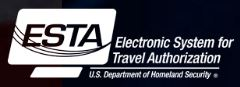 ESTA Electronic System For Travel Authorization