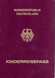 Kinderreisepass Einreise USA