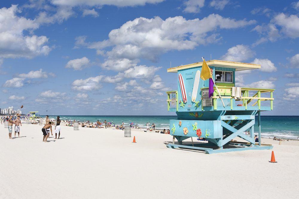 Sonne - Stand- Meer : Das ist Miami Beach