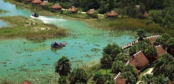 Propellerboot in den Everglades