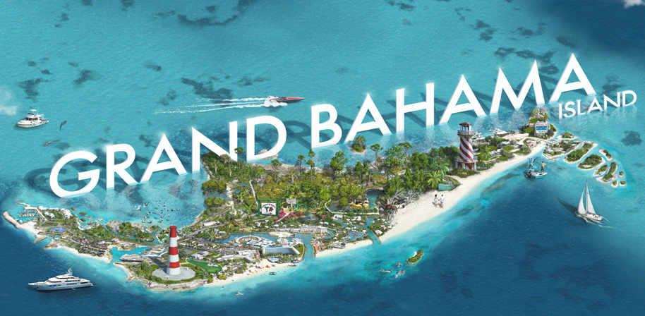 Bahamas Karte