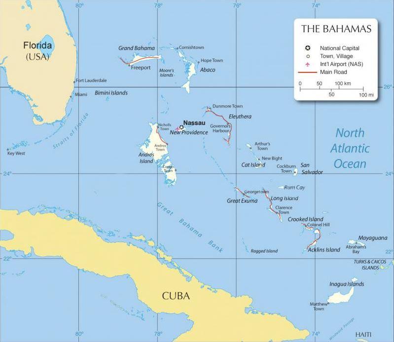 Entfernung Miami Bahamas