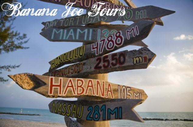 Entfernungen von Key West