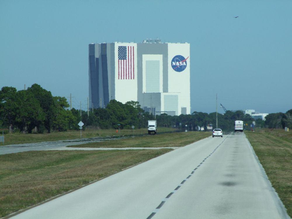 Gelände Kennedy Space Centre Florida