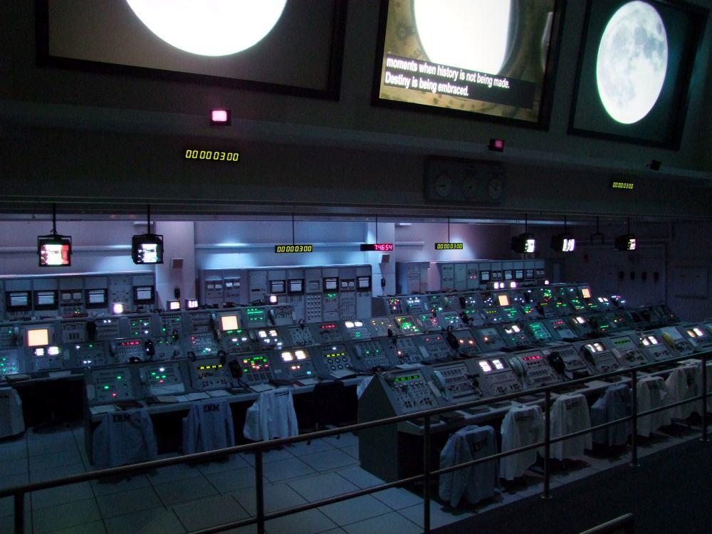 Mond Mission Kontrollzentrum Kennedy Space Centre Florida