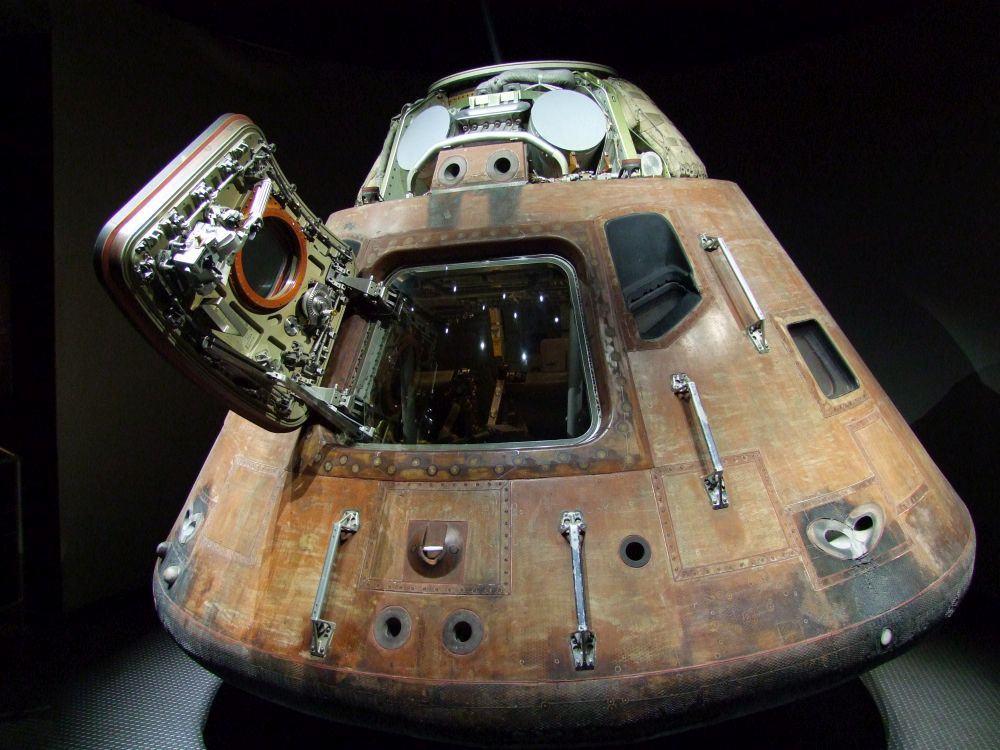 Original Raumkapsel Kennedy Space Centre