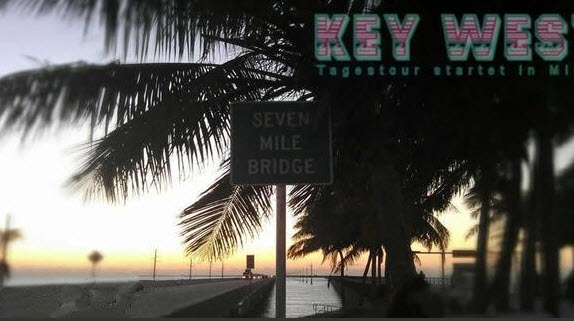 Seven Mile Bridge auf dem Weg nach Key West