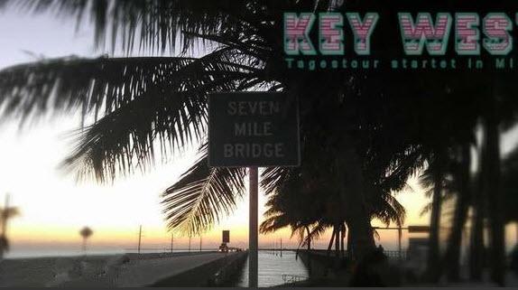 Seven Mile Bridge auf dem Weg nach Key West