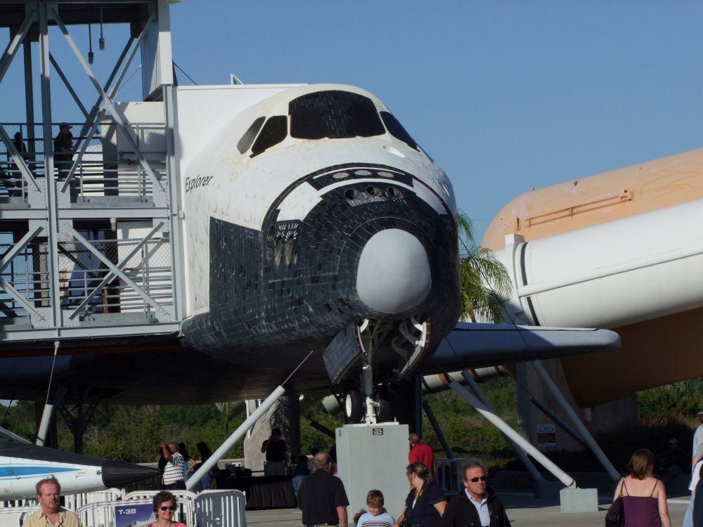 Space Shuttle Besichtigung Kennedy Space Centre
