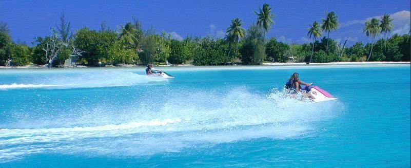 Tagesausflug mit Jet Ski Fahren auf den Bahamas