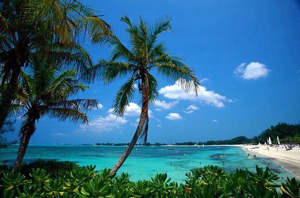 Traumhafte Strände auf den Bahamas.